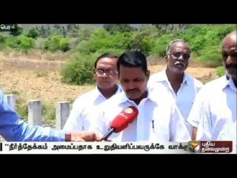 Reporter-about-Permbalur-Chinnamutlu-dam-project