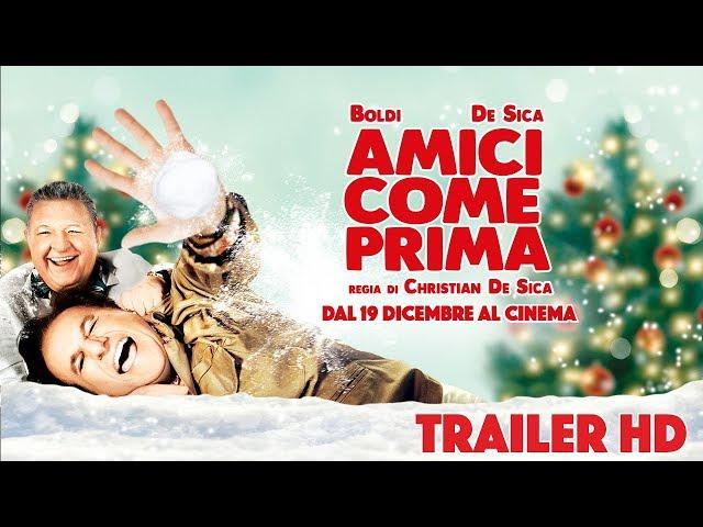 Anteprima Immagine Trailer Amici come prima, trailer ufficiale della commedia di e con Christian De Sica e con Massimo Boldi