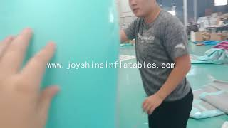 Inflatable Air Track Air Tumbling Mat For Gymnastic youtube video