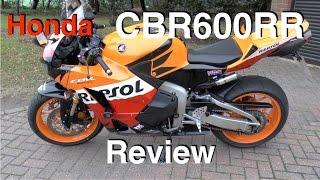 4. Honda CBR600RR review