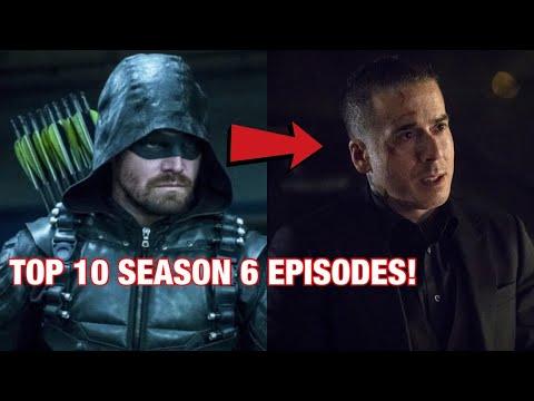 Top 10 BEST Arrow Season 6 Episodes!