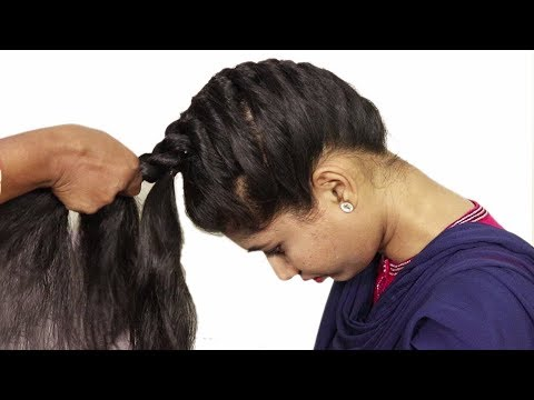 Braid hairstyles - How to do French Braid Hairstyle tutorial 2018  Easy Hairstyle for Long Hair 2018