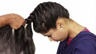Video How to do French Braid Hairstyle tutorial 2018    Easy Hairstyle for Long Hair 2018 MP3, 3GP, MP4, WEBM, AVI, FLV Desember 2018