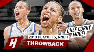 Video The Series Stephen Curry Became CHEF CURRY! Full Highlights vs Nuggets 2013 Playoffs - Playoff Debut MP3, 3GP, MP4, WEBM, AVI, FLV Desember 2018
