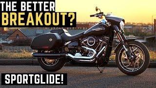 9. The Better Breakout? 2019 Harley Sportglide 107 Demo Ride Review Impressions Walk Around Sport Glide