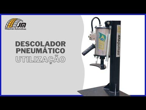 Descolador Pneumático - Utilização