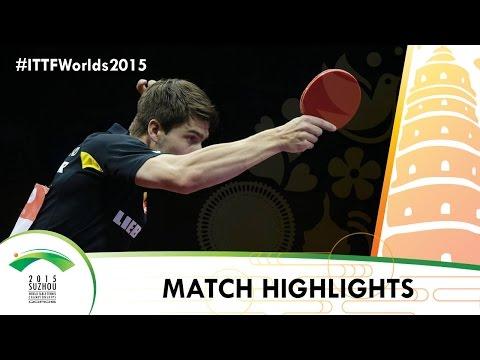 WTTC 2015 Highlights: FRANZISKA Patrick vs FANG Bo (1/4)