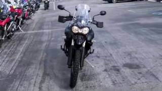 7. Pre-Owned 2013 Triumph Tiger 800 XC Black at Euro Cycles of Tampa Bay