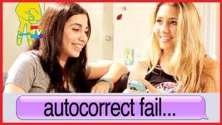 iPhone Text Fail with Lia Marie Johnson and Lainey Lipson