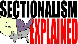 U.S. Sectionalism for Dummies -- The Civil War, States Rights and The Missouri Compromise