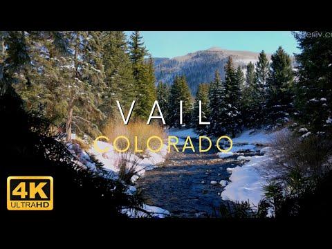 Vail Colorado in 4K Winter