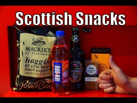 VIDEO: Scottish Snacks Taste Test #BlogManay