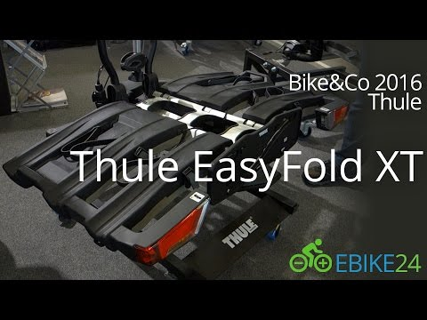 Thule EasyFold XT 934 - 2017 Fahrradträger für Anhängerkupplung   Elektrofahrrad24.de