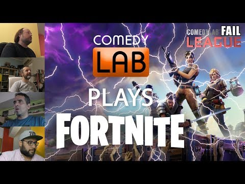 Fail League - ComedyLab plays Fortnite ft. Kostas Maliatsis