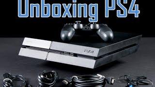 Playstation 4 - Unboxing, instalando e jogando