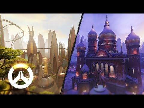 Overwatch - Nuevos mapas: Industrias Volskaya y Numbani