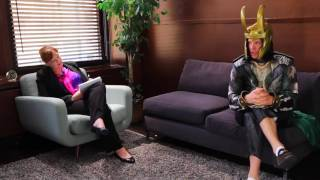 Thor and Loki superhero therapy