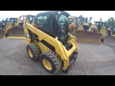 CATERPILLAR MINICARGADORAS 236D equipment video yXvv_0U1MoA