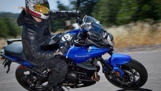 5. 2013 Kawasaki Versys - 650cc Street Twins Shootout - MotoUSA