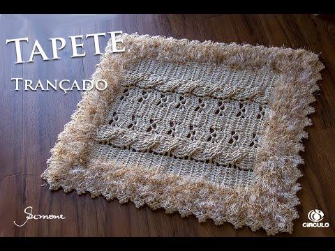 come realizzare un bellissimo tappeto all'uncinetto