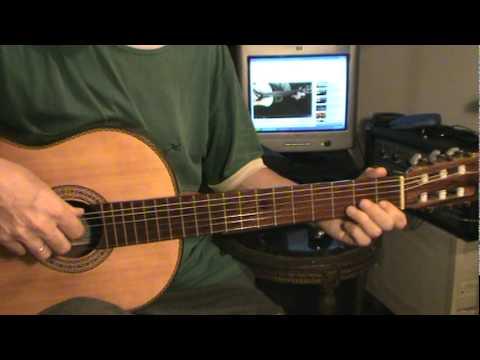 Punteo fácil para guitarra - Himno a la Alegría - Beethoven