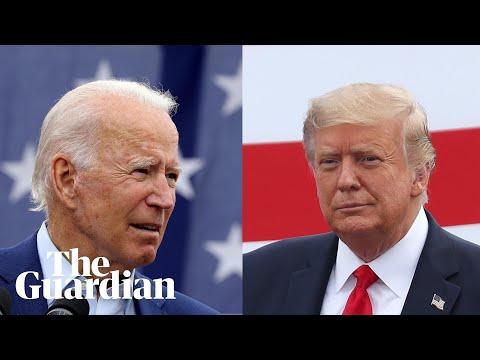 Joe Biden and Donald Trump face off in first presidential debate – watch live
