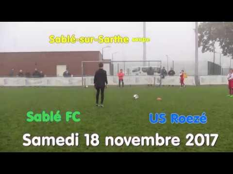Coupe U11 deuxième tour Sablé FC - US Roezé, US Vion