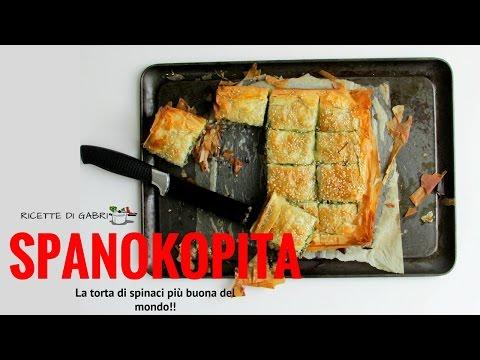 la spanokopita: torta di spinaci e pasta filo