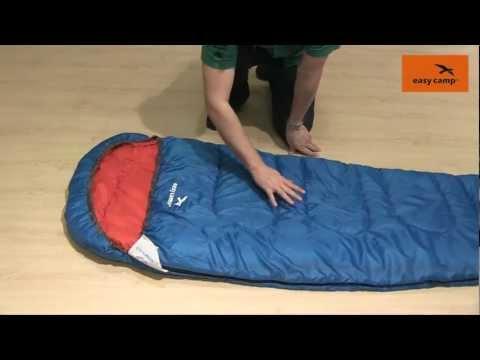Відеоогляд туристичного спальника Easy Camp Cosmos 250