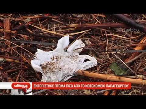 Εντοπίστηκε πτώμα πίσω από το νοσοκομείο Παπαγεωργίου | 10/6/2019 | ΕΡΤ