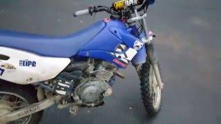 8. Ghetto Yamaha TTR 125 Dirt / Pit Bike Walk Around