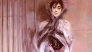 Giovanni Boldini (Ferrara 1842/ Parigi 1931) grande ritrattista delle donne di ambienti aristocratici e alto-borghesi rappresentate...