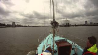Sail to London 2012: GoPro timelapse