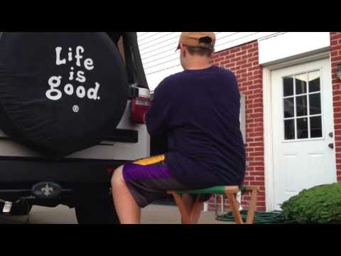 How to install 1997-2006 Jeep Wrangler Tail Light Guards.