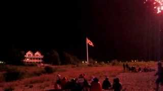 Southampton (ON) Canada  City new picture : Canada Day Fireworks Display in Southampton Ontario, Saugeen Shores