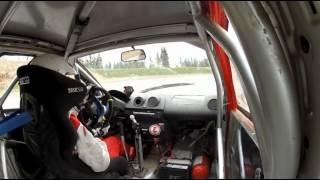 Steve Røkland test Ford Fiesta S1600