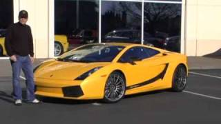2008 Lamborghini Gallardo Superleggera Test Drive Video @ Lamborghini Portland
