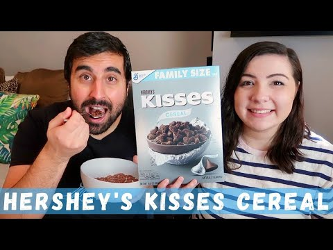 Hershey's Kisses Cereal Review