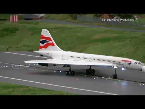 (4K) Miniatur Wunderland airport ~ Planes (July 2018)