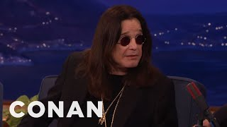 Nonton Ozzy Osbourne Accidentally Texted Robert Plant Looking For His Cat    Conan On Tbs Film Subtitle Indonesia Streaming Movie Download