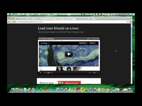 google plus project - Google Art Project data lead Piotr Adamczyk demonstrates not only the site, containing some 30000 pieces of art, but also its integration with Google Plus H...