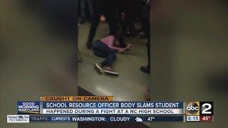 Download Lagu Video shows North Carolina school officer body slam student Mp3