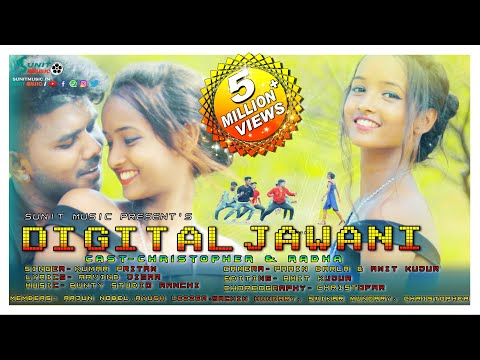 DIGITAL JAWANI // SINGER KUMAR PRITAM // NEW NAGPURI SONG 2020 // CHRISTOPHER & RADHA // SUNIT MUSIC
