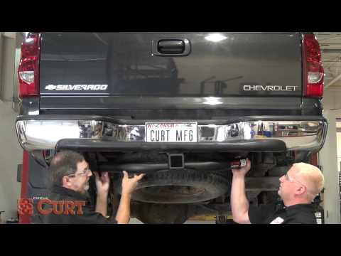 Trailer Hitch Install: CURT 15602 for 2001-2010 Chevrolet/GMC Silverado/Sierra 2500HD/3500