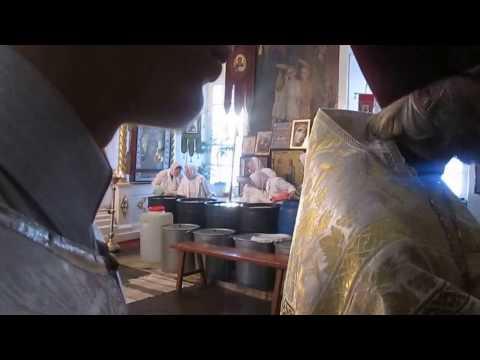 Храм Семи отроков Ефесских г.Тобольск 19.01.2017 г. видео онлайн