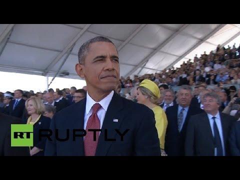 Обама не выдержал взгляд Путина - DomaVideo.Ru