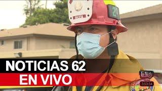 Un feroz incendio en la ciudad de Tustin – Noticias 62 - Thumbnail