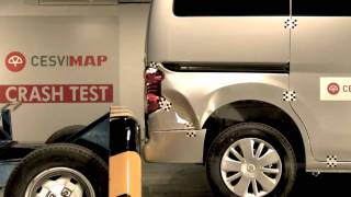 Crash test trasero Nissan Nv 200 en Cesvimap
