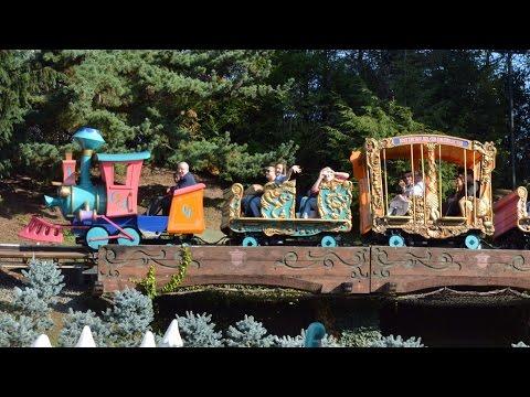 Casey Jr.  Circus Train at Disneyland Paris Full Ride Experience HD (Le Petit Train Du Cirque)