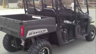 9. 2012 Polaris Ranger Crew 500 Turbo Silver LE at Tommy's Motorsports